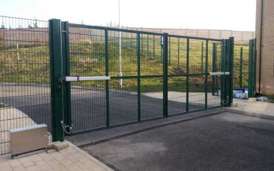 Recent Project – Automated Gates in Luxborough